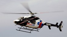 TraumaOne North helicopter