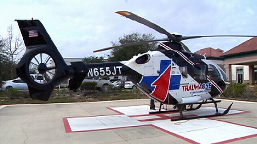 TraumaOne South helicopter